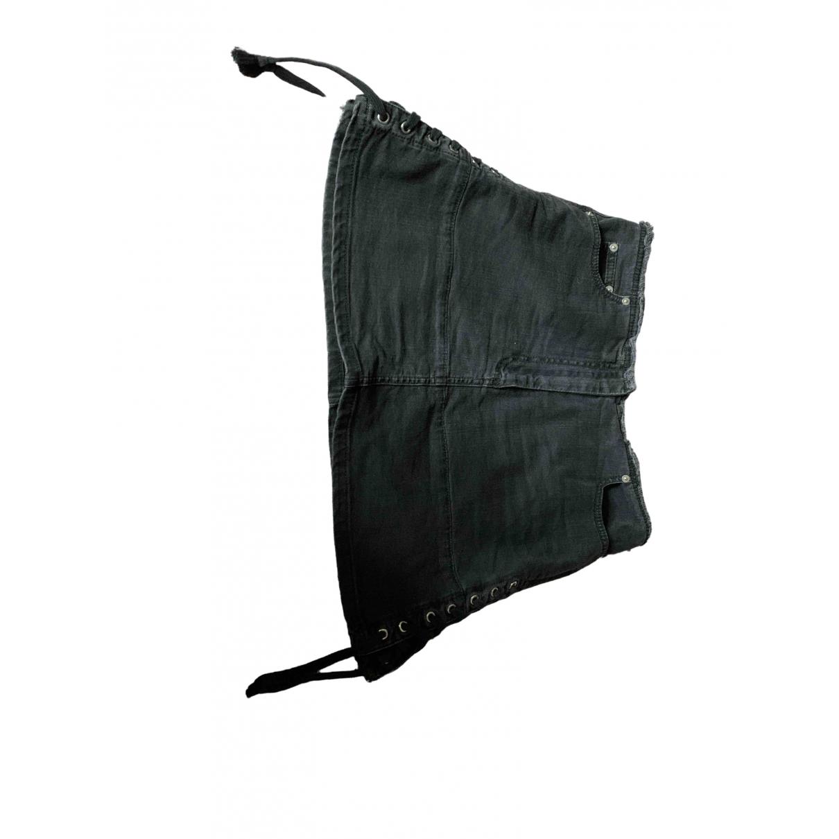 Mcq - Jupe   pour femme en coton - gris