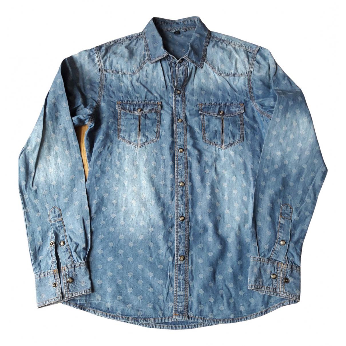 Non Signé / Unsigned N Blue Denim - Jeans  top for Women L International