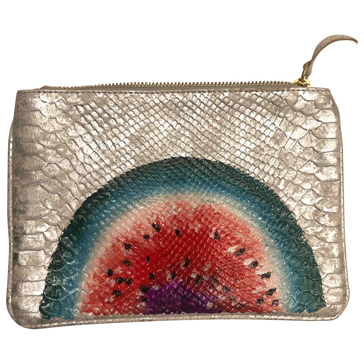 Non Signe / Unsigned \N Clutch in Polyester