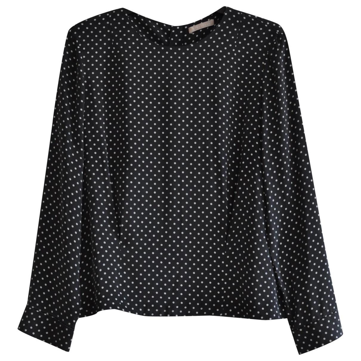Strenesse - Top   pour femme en soie - gris