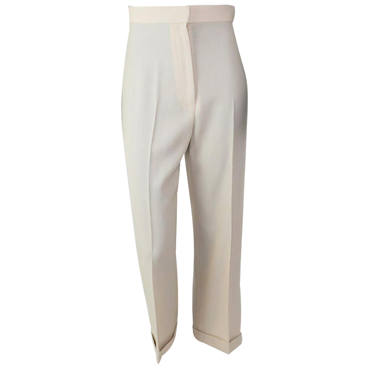 Jacquemus N Beige Trousers for Women 36 FR
