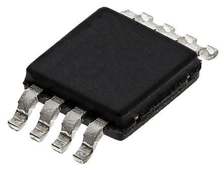 Analog Devices AD7418ARMZ, 10-bit Serial ADC, 8-Pin MSOP