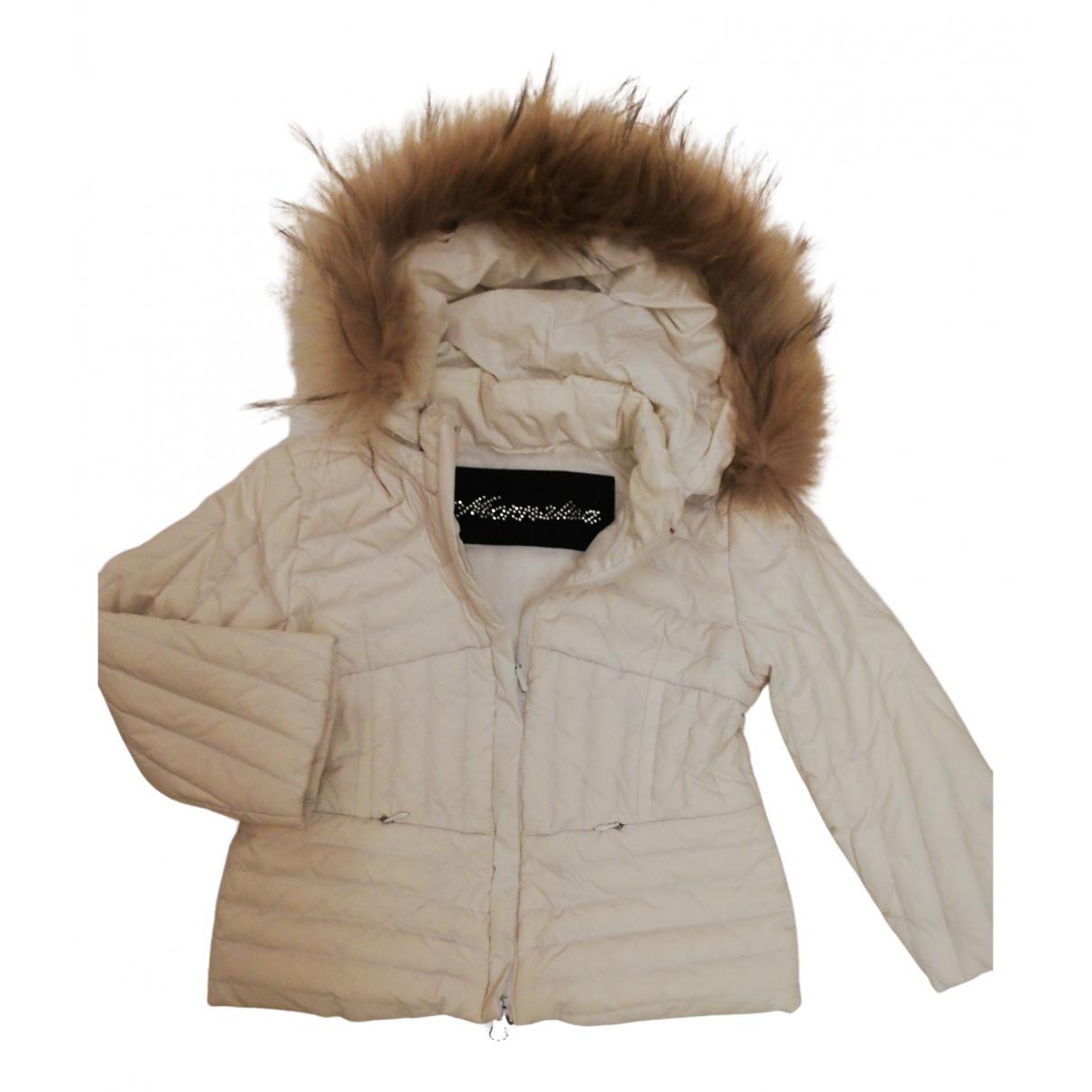 Monnalisa - Blousons.Manteaux   pour enfant - blanc