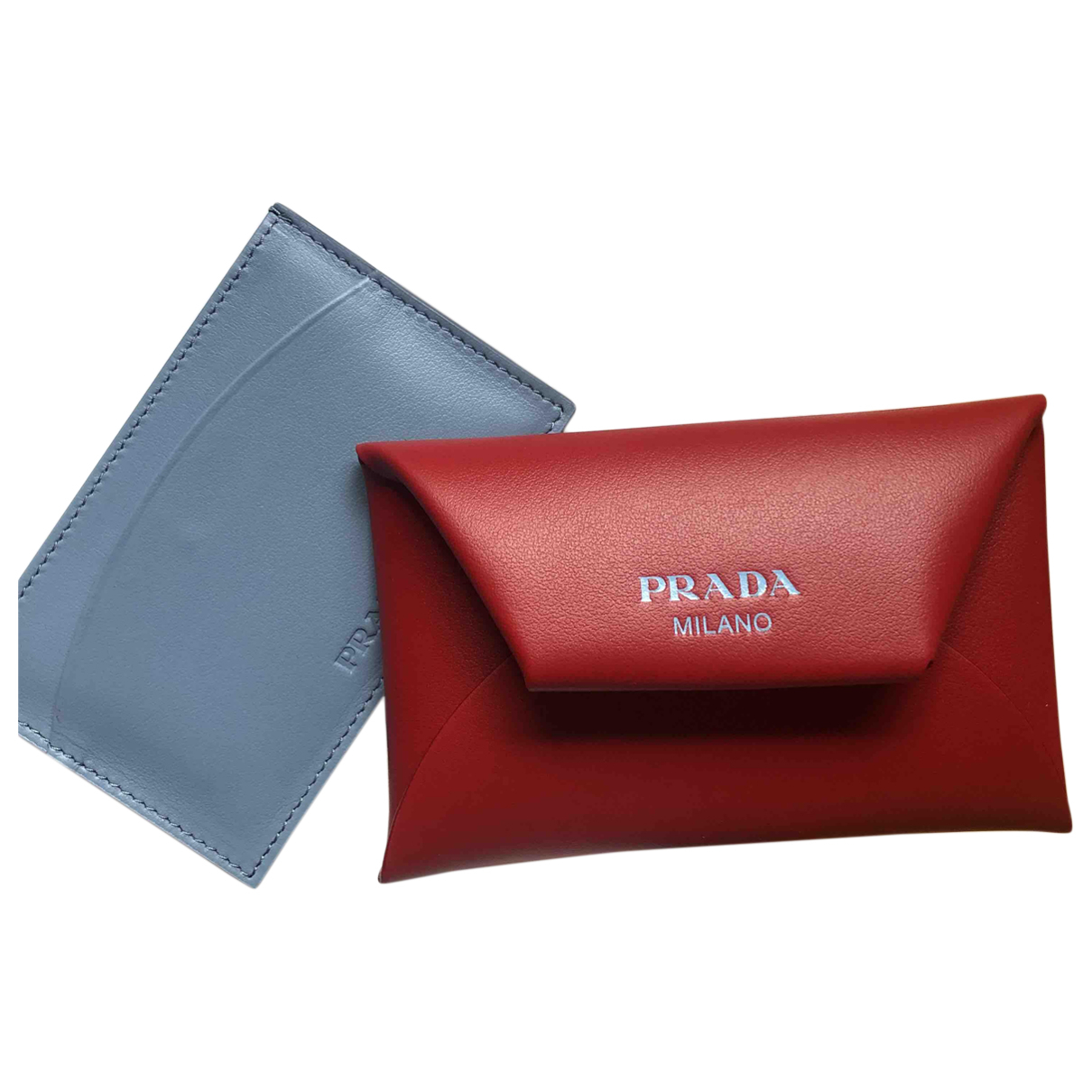 Prada N Red Leather Purses, wallet & cases for Women N