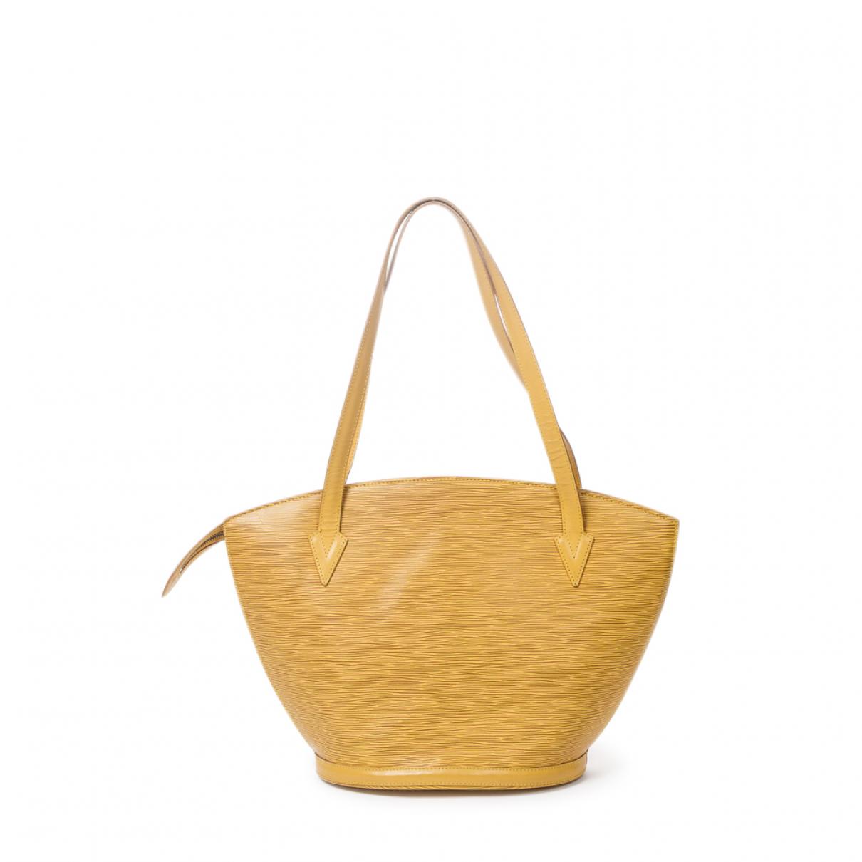 Louis Vuitton Saint Jacques Yellow Leather handbag for Women \N