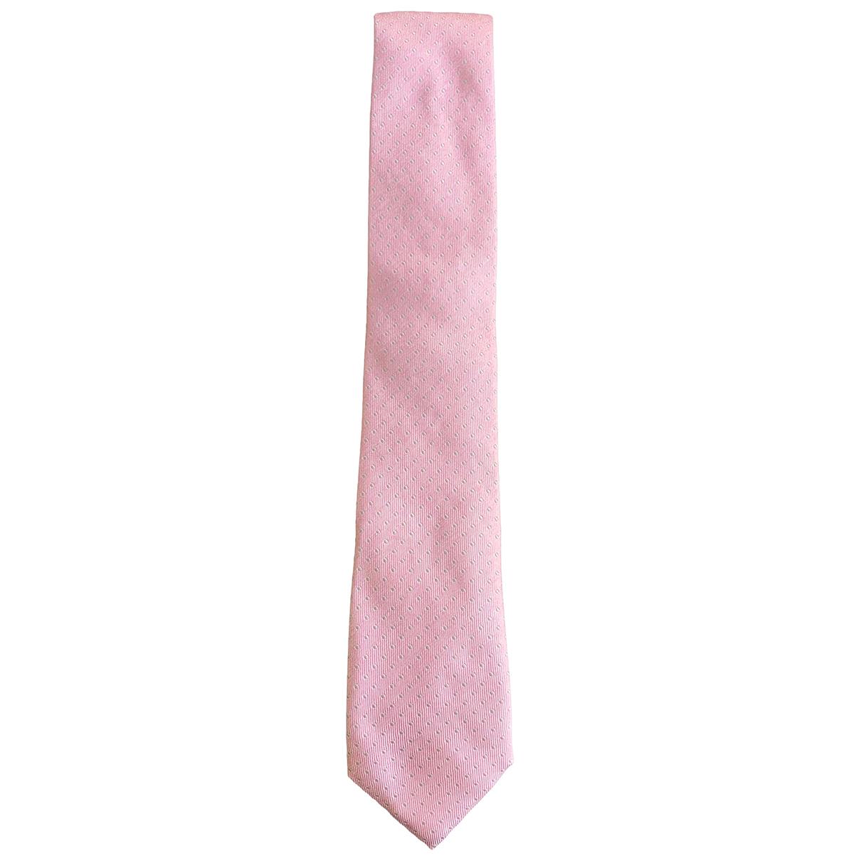Windsor \N Krawatten in  Rosa Seide