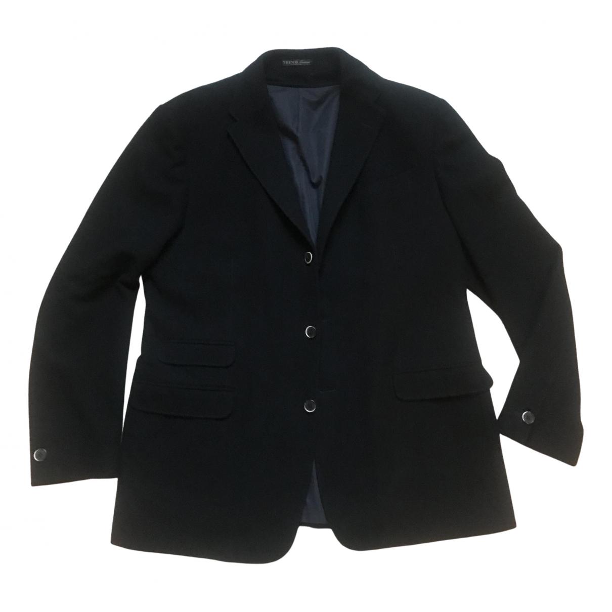Corneliani - Vestes.Blousons   pour homme en laine - noir