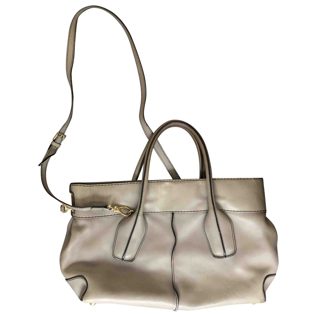 Tod's \N Grey Leather handbag for Women \N