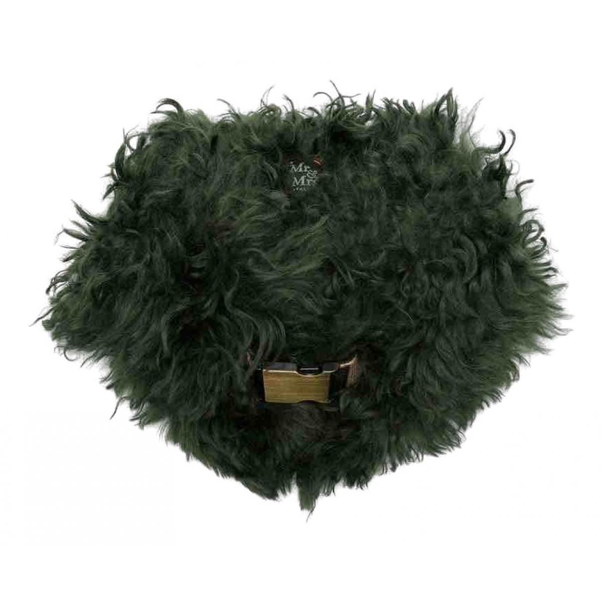 Mr & Mrs Italy N Green scarf for Women N