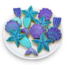 Mermaid Cookie Favors | Mermaid Party