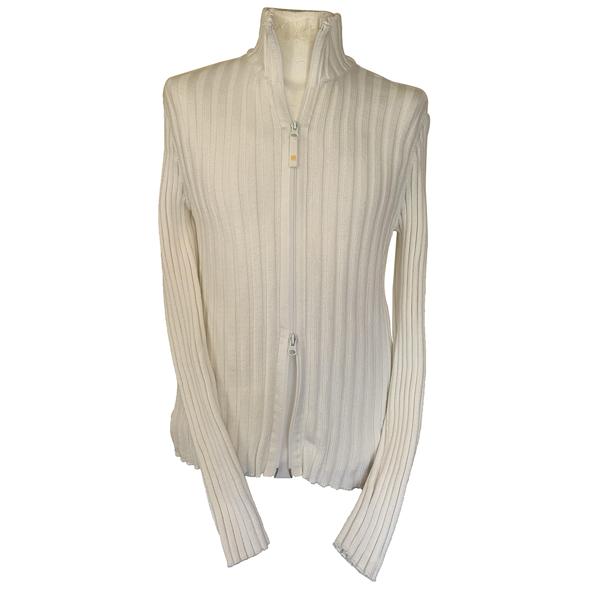 Armani Jean - Pulls.Gilets.Sweats   pour homme en coton - blanc