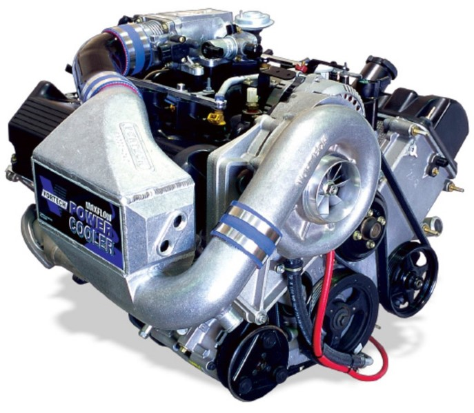 Vortech Polished Supercharger System w/ V-3 Si & Charge Cooler Ford Mustang GT 4.6L 00-04