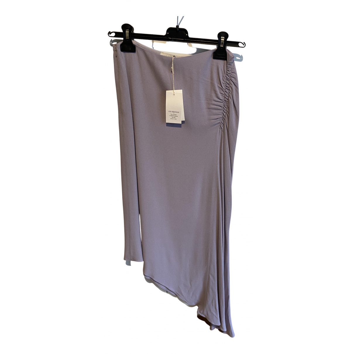 Non Signé / Unsigned N Purple skirt for Women 38 FR