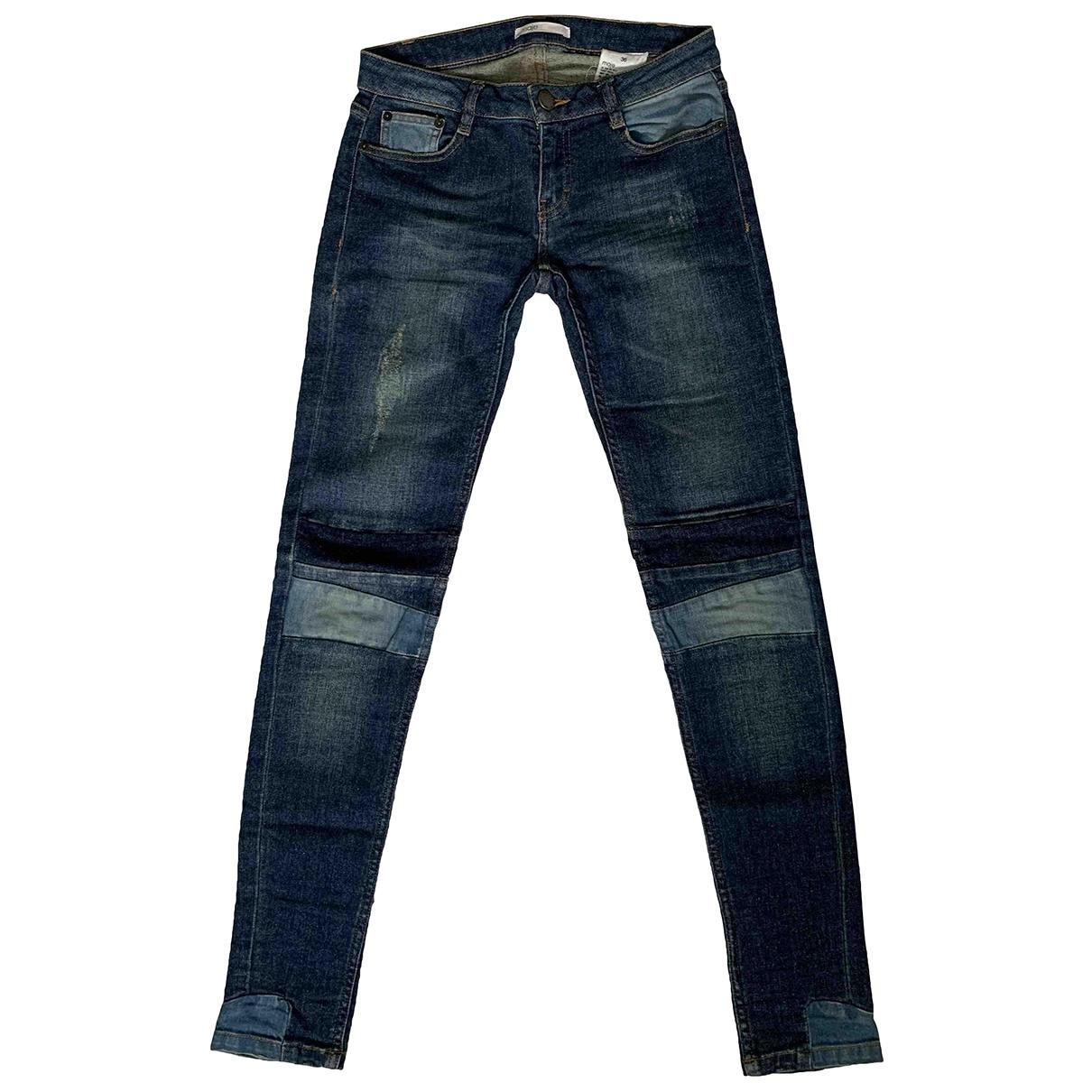 Maje \N Blue Denim - Jeans Jeans for Women 36 FR