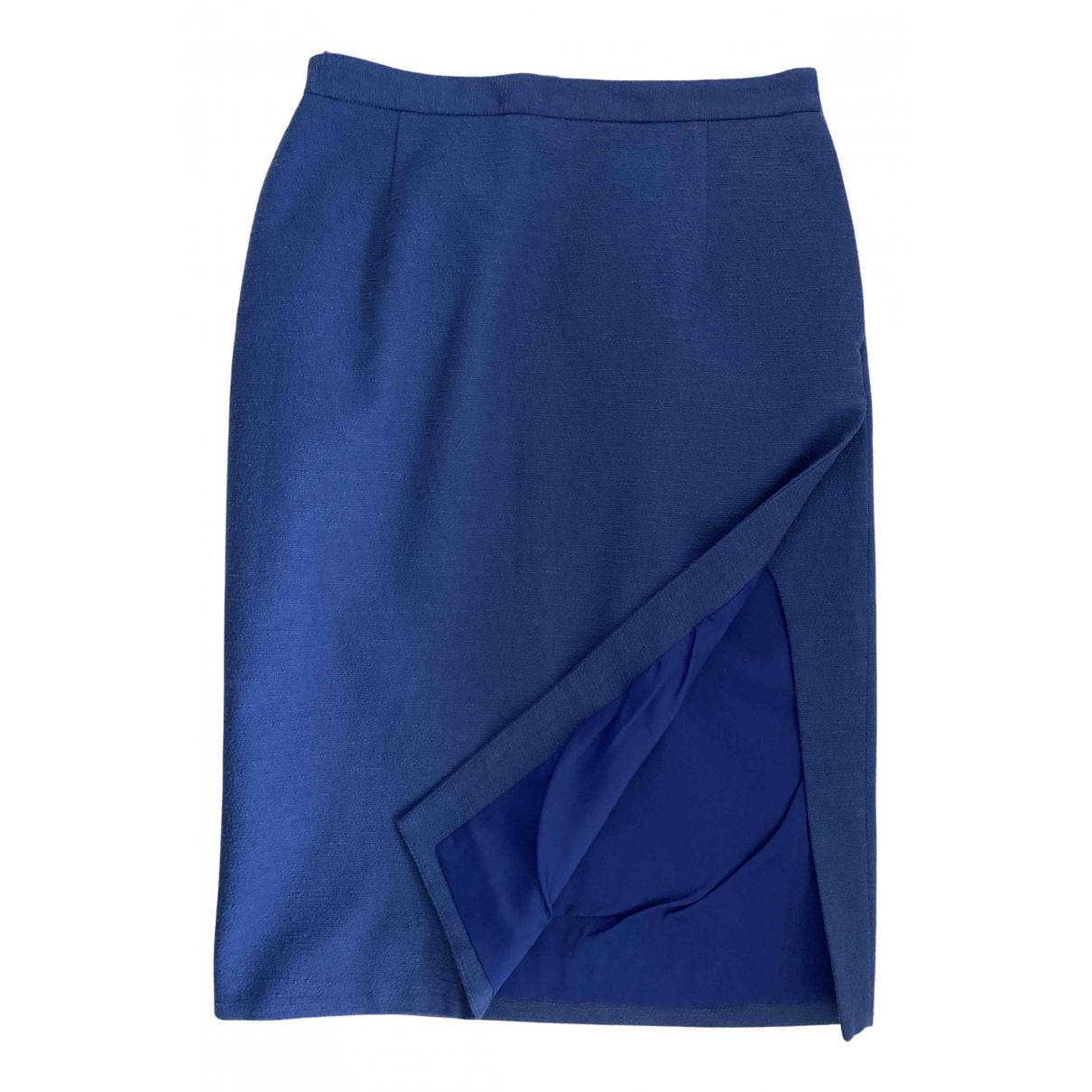 Altuzarra - Jupe   pour femme en coton - elasthane - bleu
