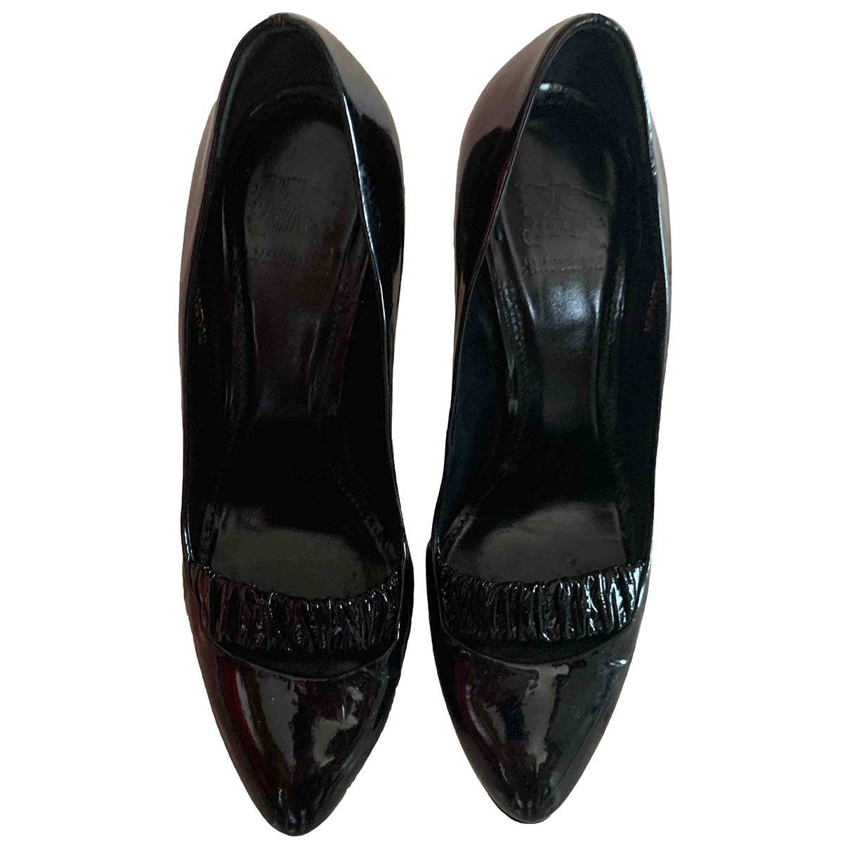 Burberry \N Black Patent leather Heels for Women 38 IT