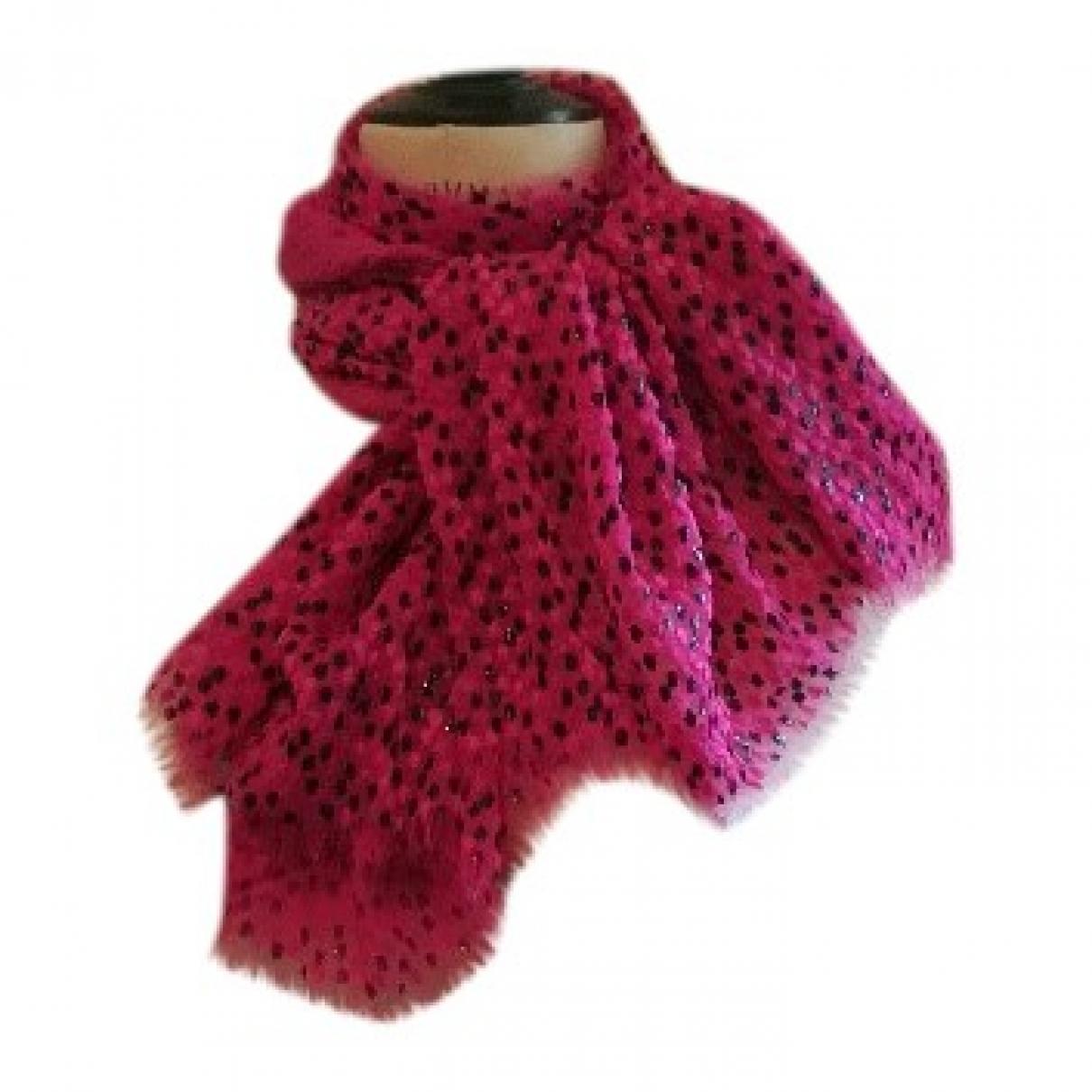 - Foulard   pour femme en soie - rose