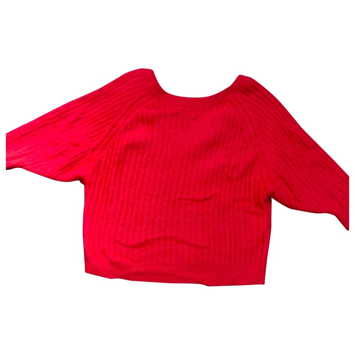 Ba&sh - Pull   pour femme en laine - rouge