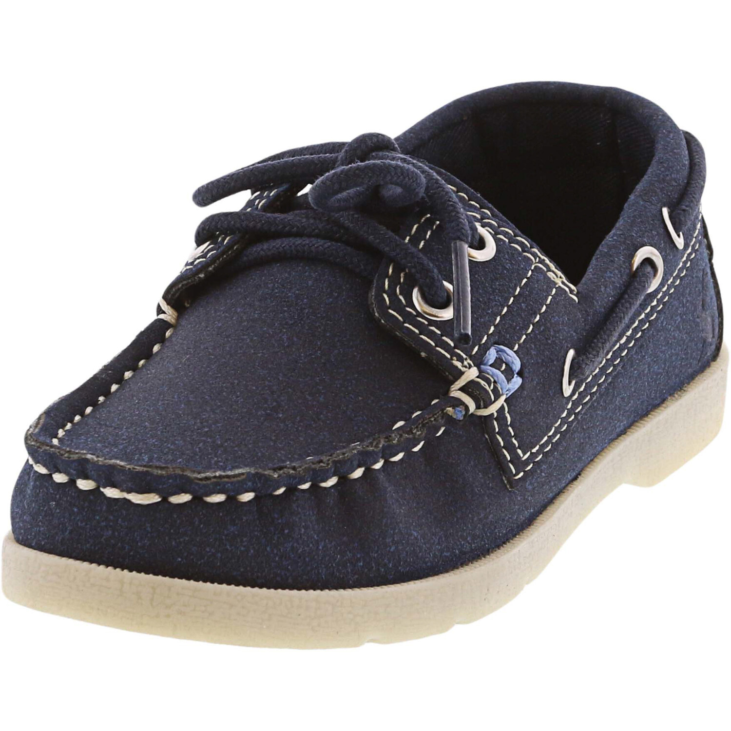 Joules Boy's Junior Swinton French Navy Ankle-High Fabric Boating - 9M