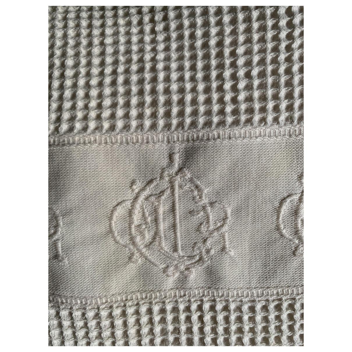 Dior - Linge de maison   pour lifestyle en coton - ecru