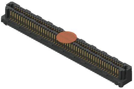 Samtec , Razor Beam LSEM, 60 Way, 2 Row, Vertical PCB Header