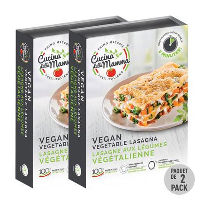 We Remain Open Lasagne végétalienne aux légumes de Cuisine de la mère, 300 g
