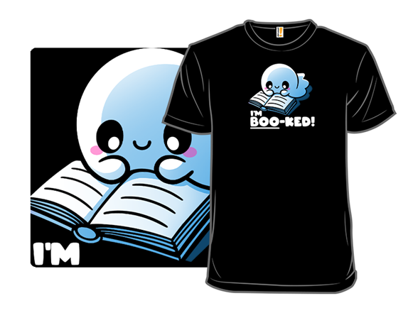 Booked Ghost T Shirt
