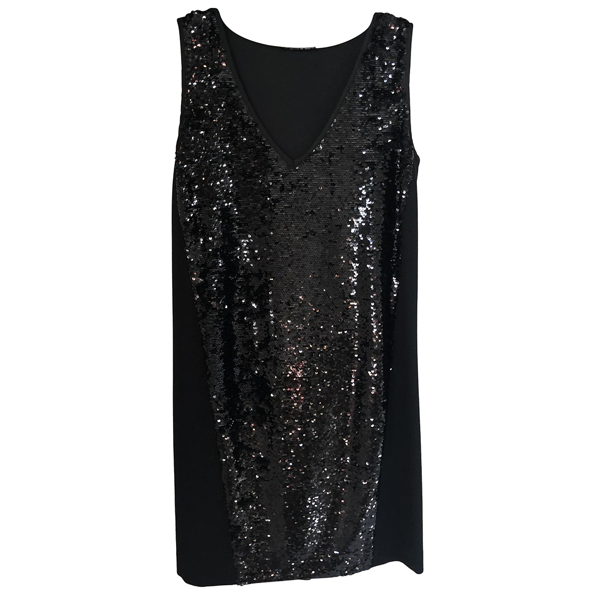 Liu.jo \N Kleid in  Schwarz Mit Pailletten