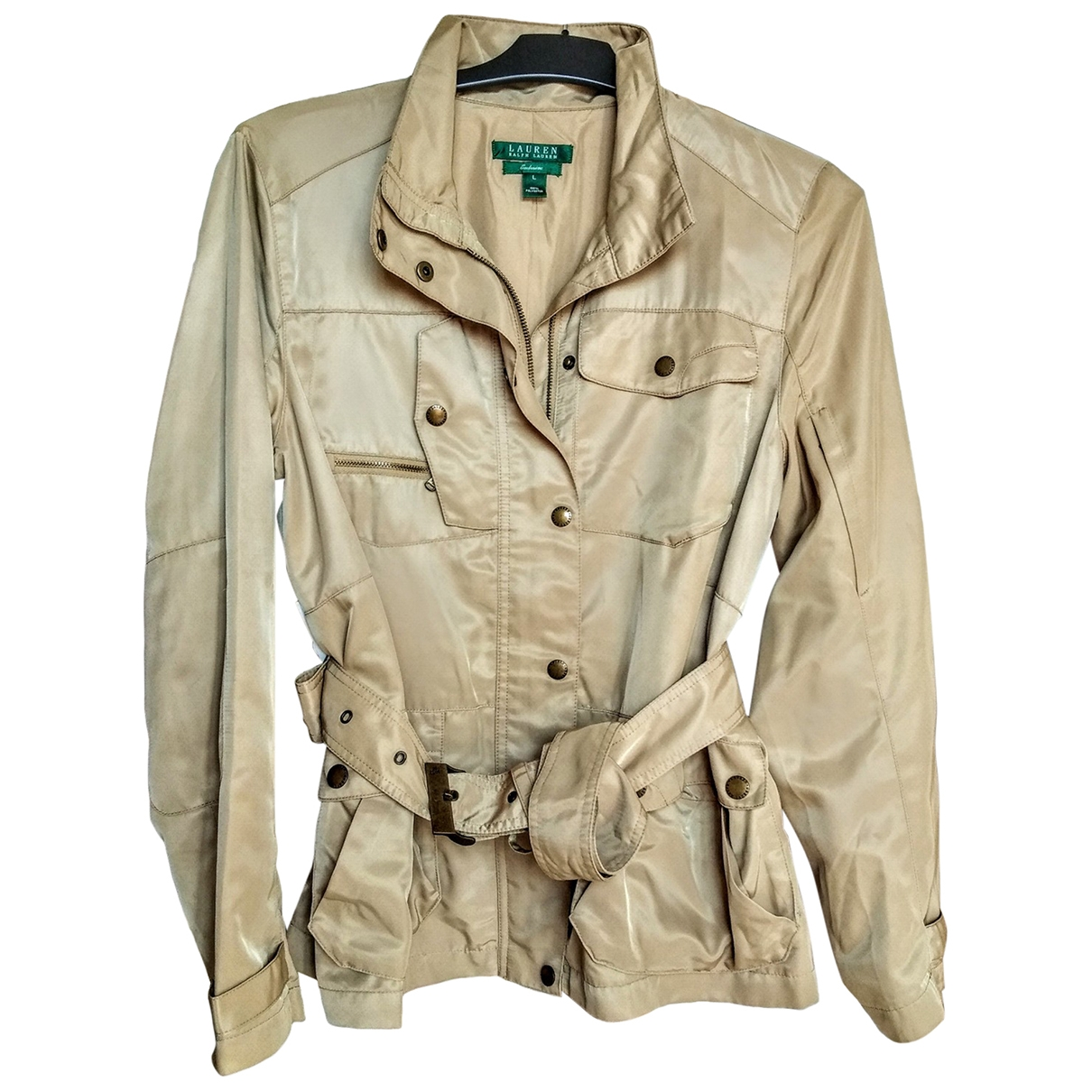 Lauren Ralph Lauren \N Beige Trench coat for Women L International