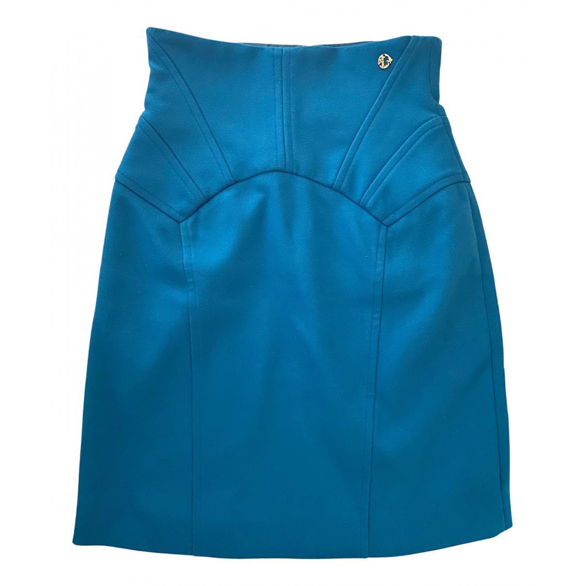 Versace \N Rocke in  Blau Polyester