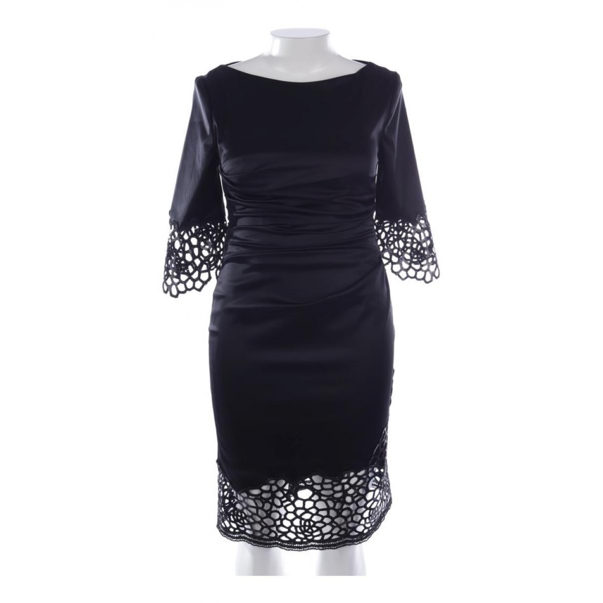 Talbot Runhof \N Kleid in  Blau Polyester