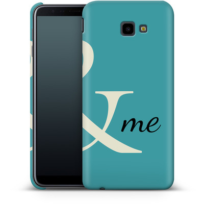 Samsung Galaxy J4 Plus Smartphone Huelle - And Me von caseable Designs