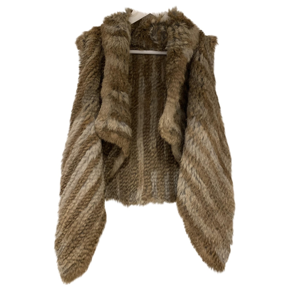 Yves Salomon \N Brown Rabbit jacket for Women 40 FR