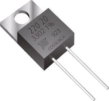 Bourns 470Ω Thick Film Resistor 20W ±1% PWR220T-20-4700F