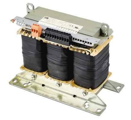 Block 2500VA Isolating Transformer, 400V ac Primary, 400V ac Secondary