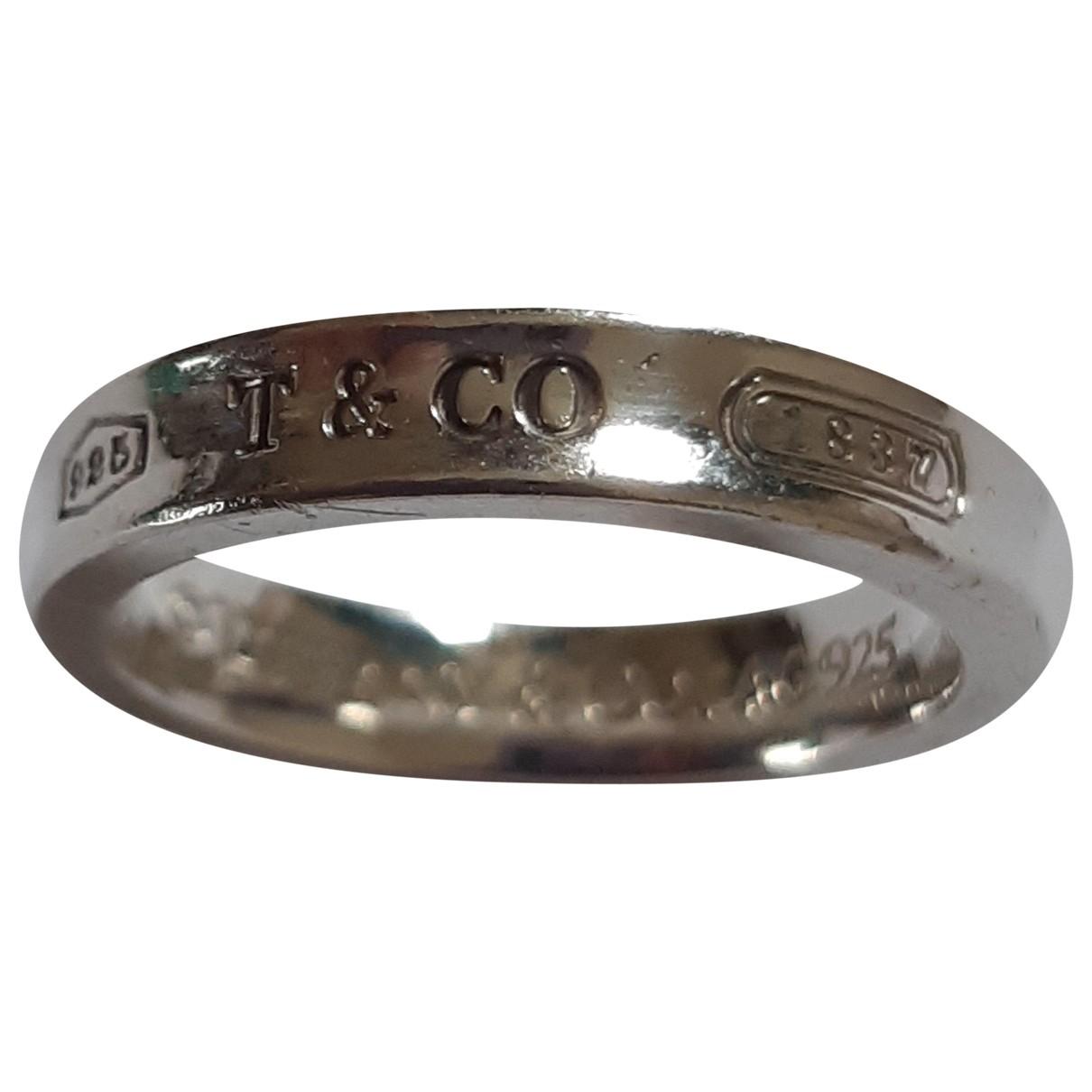 Anillo Tiffany 1837 de Plata Tiffany & Co