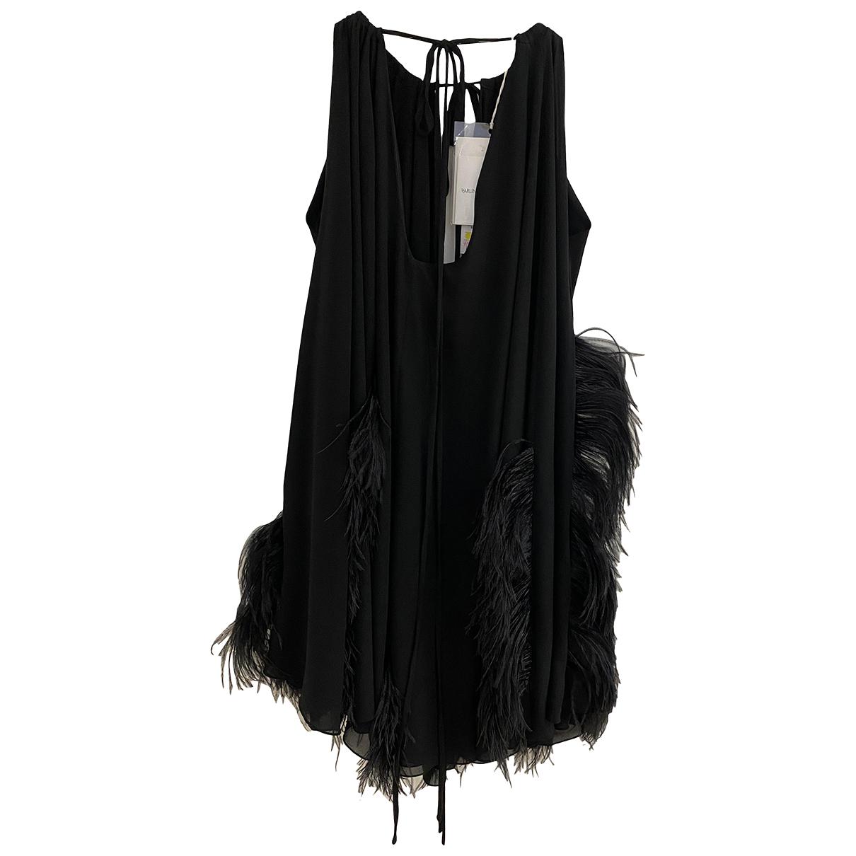 16 Arlington \N Kleid in  Schwarz Polyester