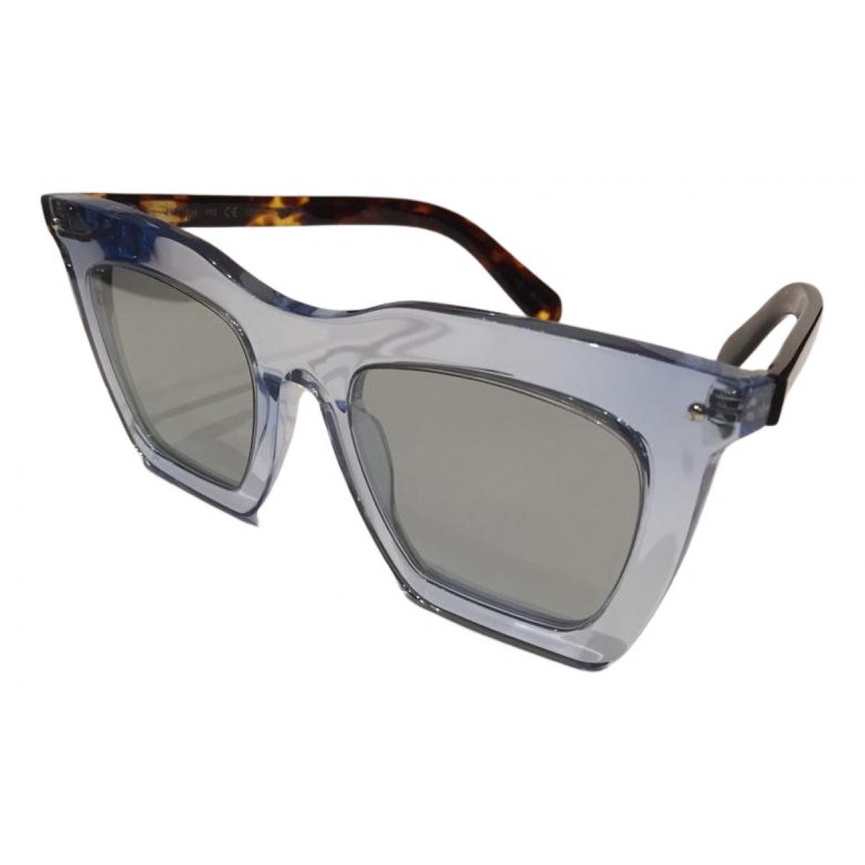 Louis Vuitton \N Sonnenbrillen in  Blau Kunststoff