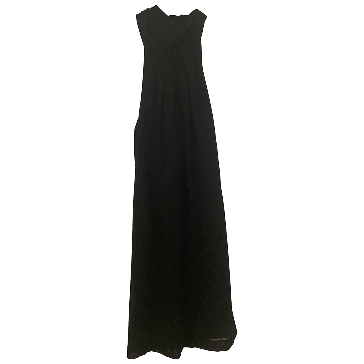 Tonello \N Black Wool dress for Women 42 IT
