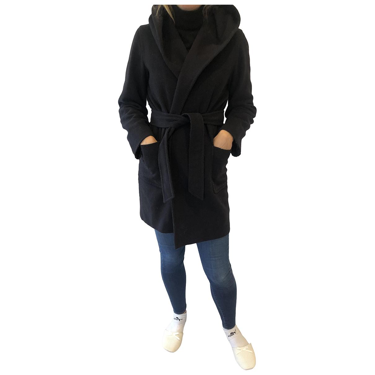 Intrend N Blue Wool coat for Women 38 IT