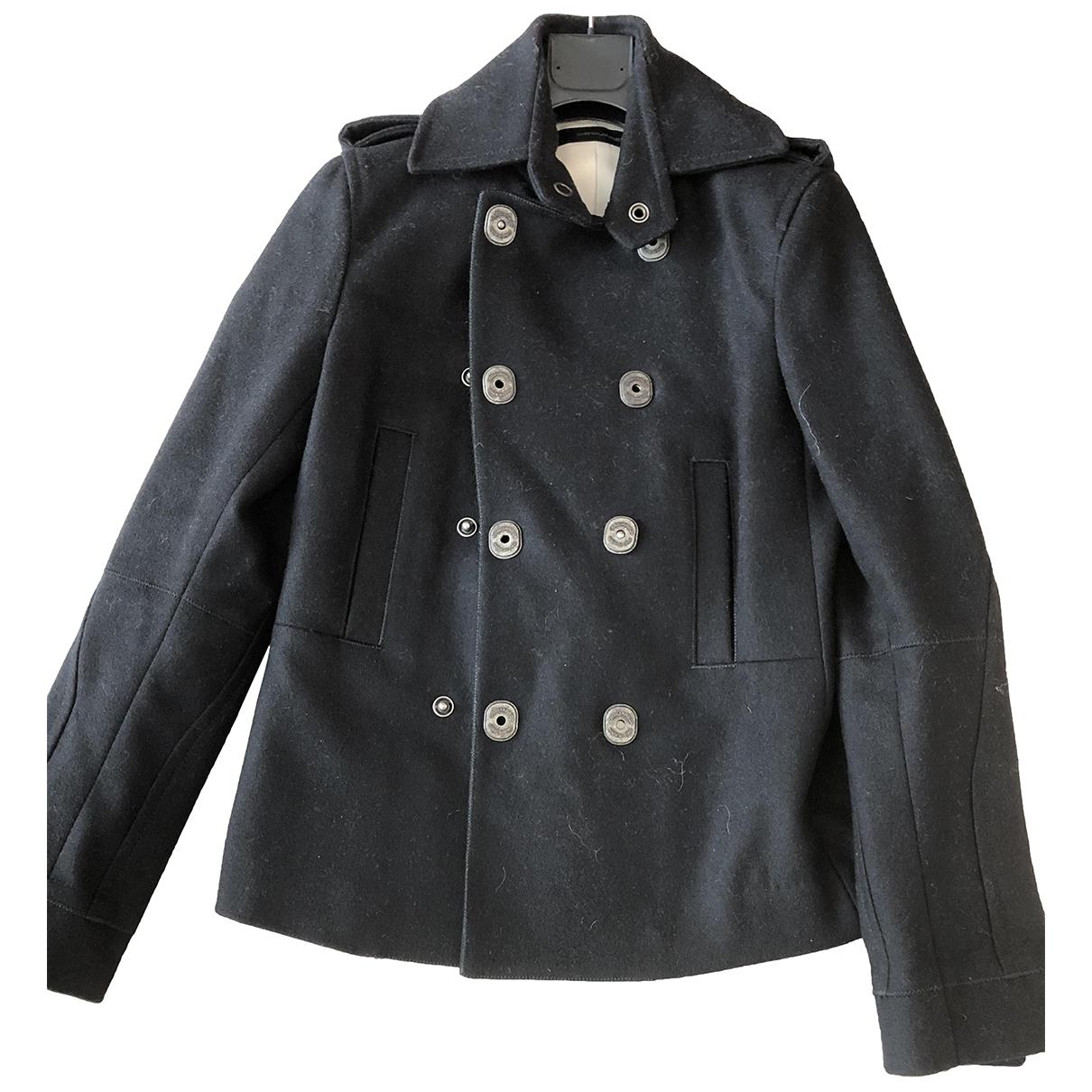 Dsquared2 - Manteau   pour femme en laine - noir