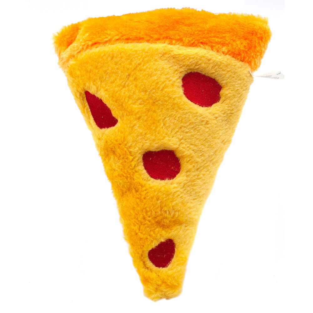 ZippyPaws Squeakie Emojiz - Pizza Slice