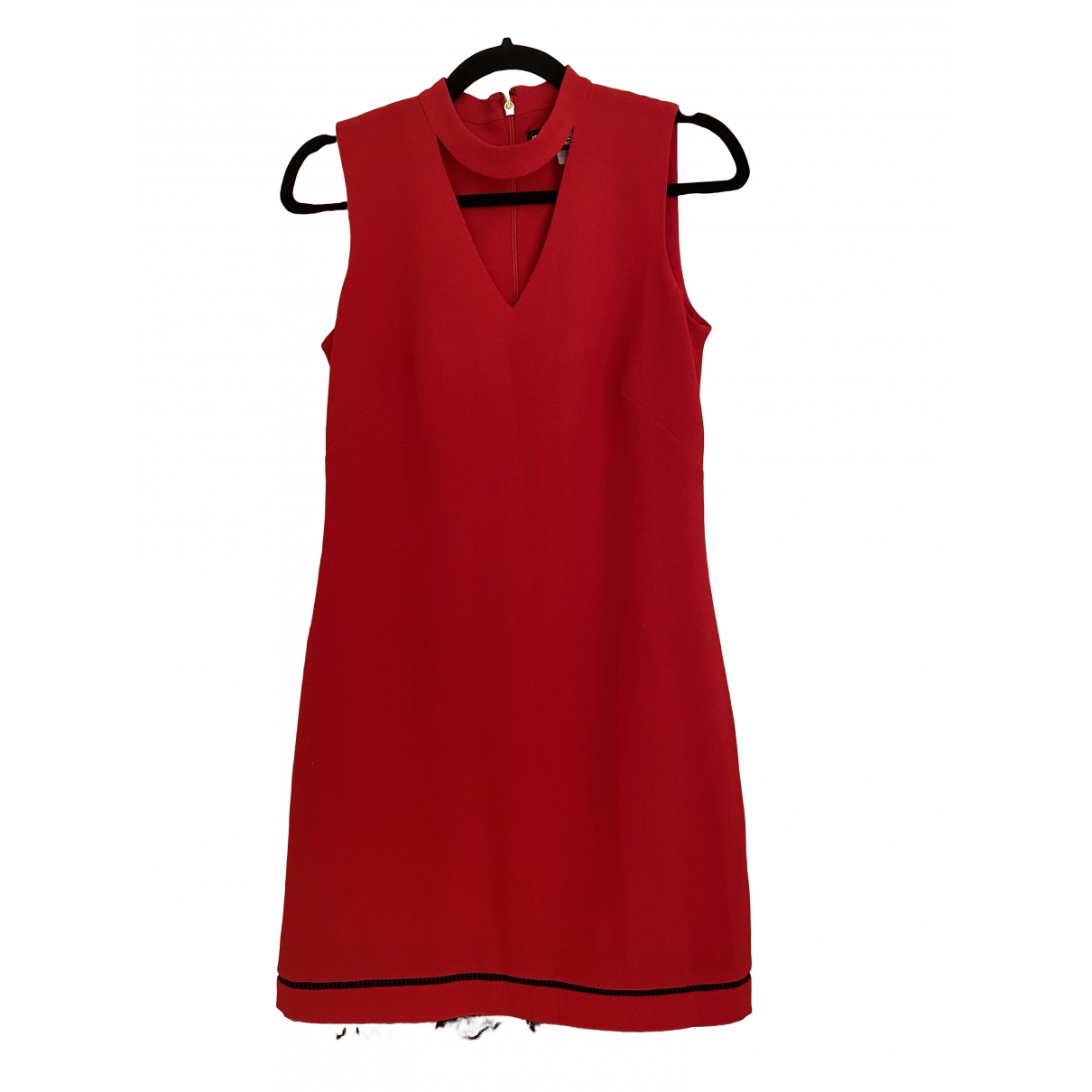 Karl Lagerfeld \N Red Cotton dress for Women 4 US