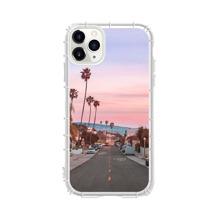 1pc Highway Scenery Print iPhone Case