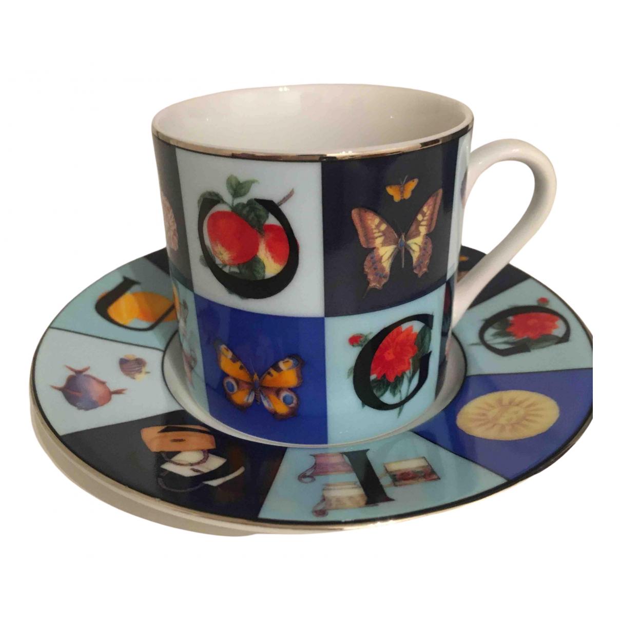Taza de Porcelana Gucci