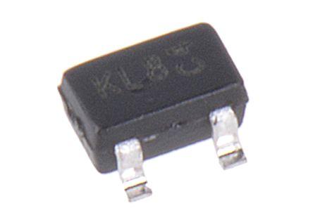 DiodesZetex Diodes Inc 30V 200mA, Dual Schottky Diode, 3-Pin SOT-323 BAT54SW-7-F (50)