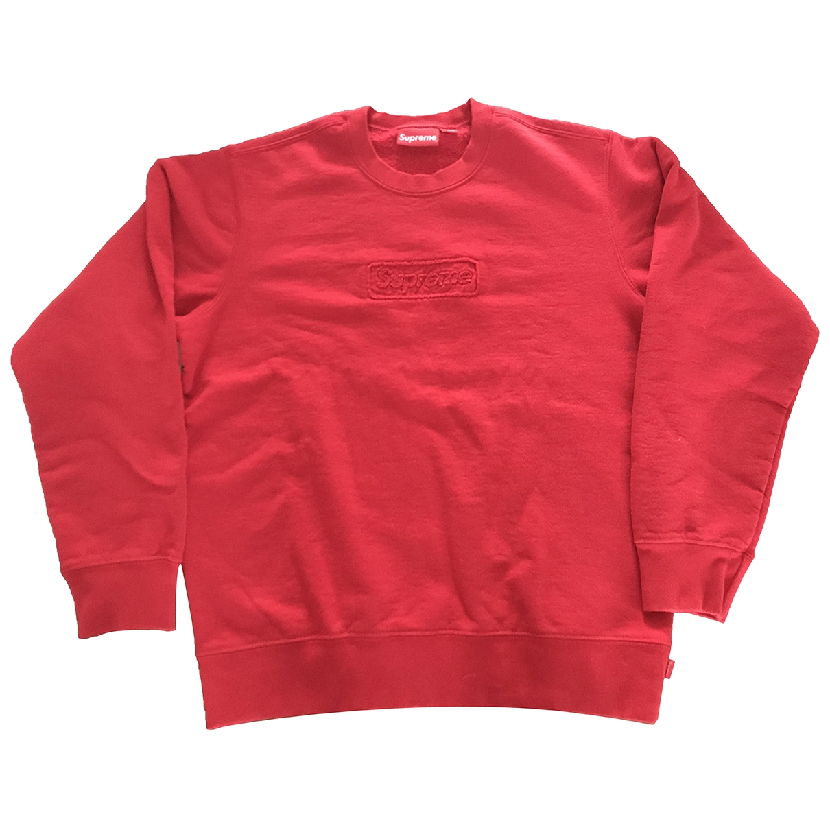 Supreme \N Red Cotton Knitwear & Sweatshirts for Men M International