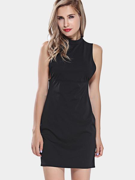 Yoins Black Bodycon Dress