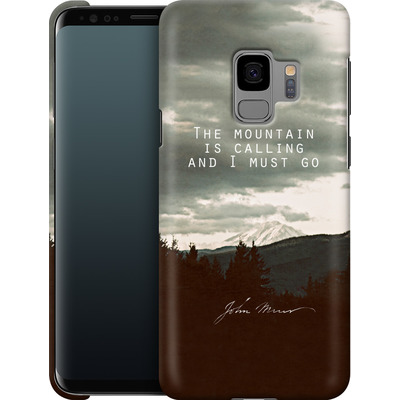 Samsung Galaxy S9 Smartphone Huelle - The Mountain Is Calling von Leah Flores