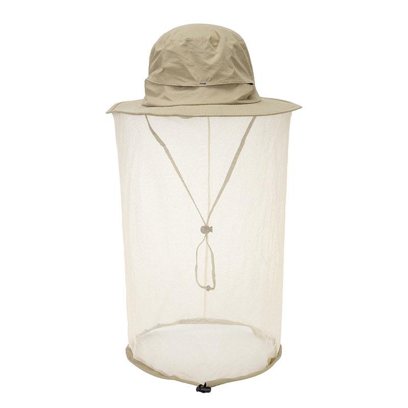 Mosquito Net Hat Sun Hat Cap Face Quick Dry Hat Bucket Cap Breathable